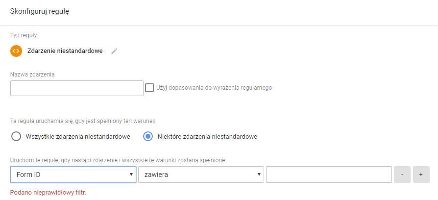 Śledzenie Formularzy Google Tag Menager