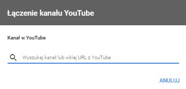 Łączenie kont YouTube i AdWords