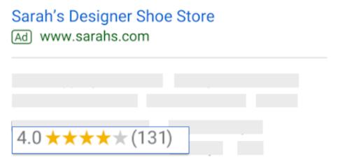 ocena sprzedawcy google