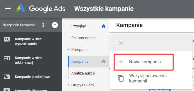 kampania discovery w google ads